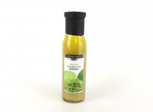 Wasabi and lime dressing
