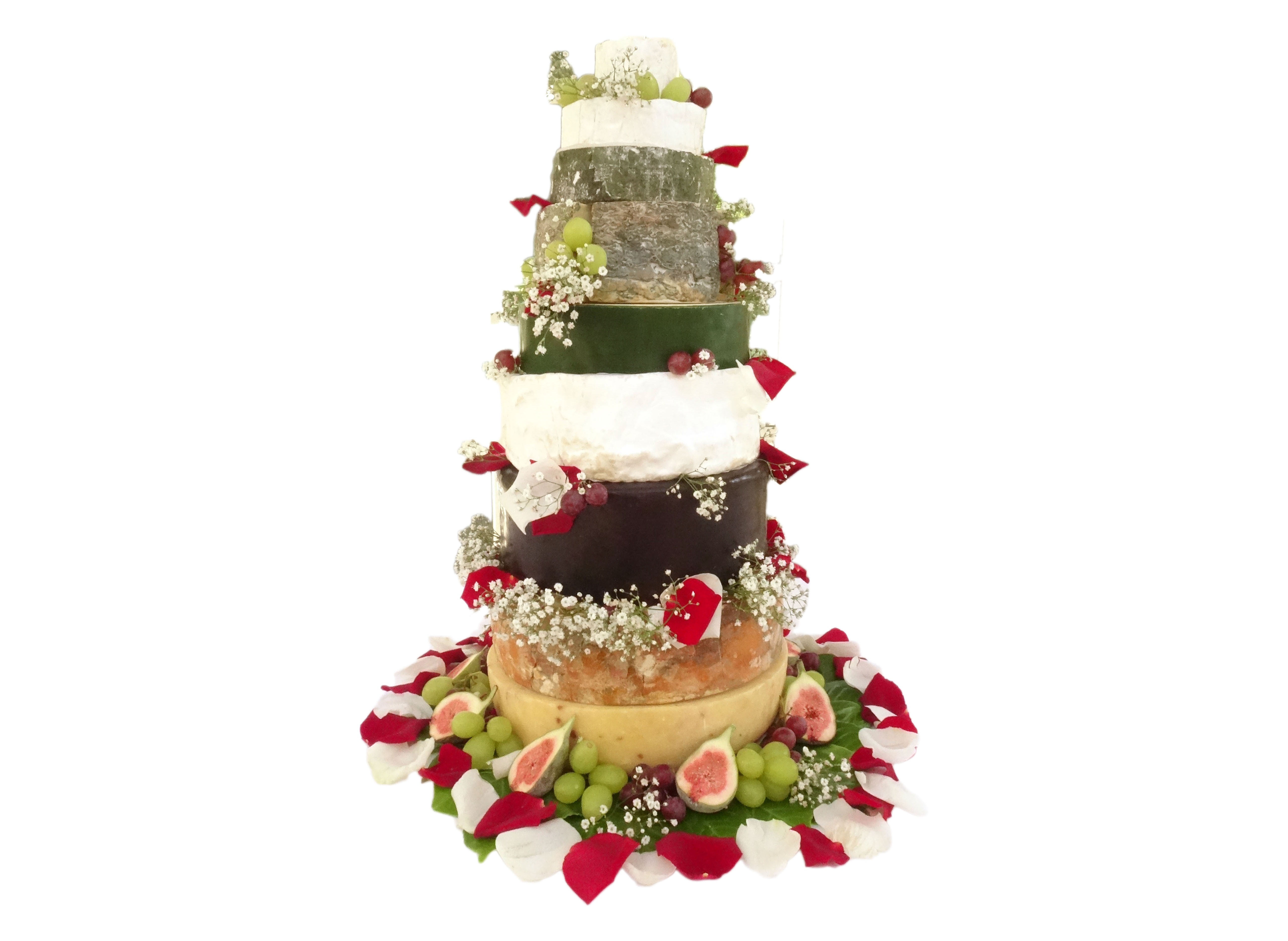 Otters Cheese Celebration Cake Example | Otters Fine Foods