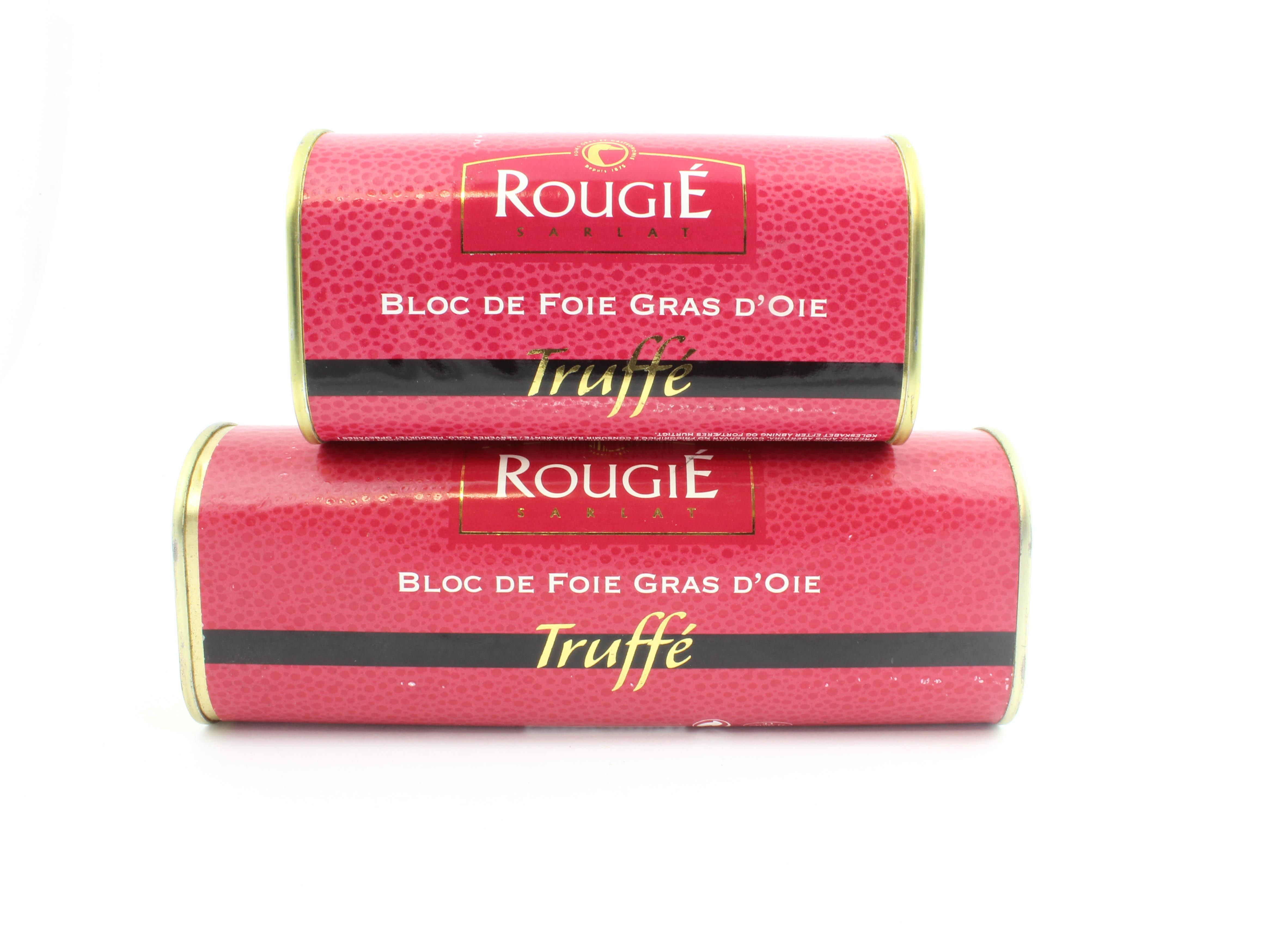 Bloc de Foie Gras d'oie Truffle 75g