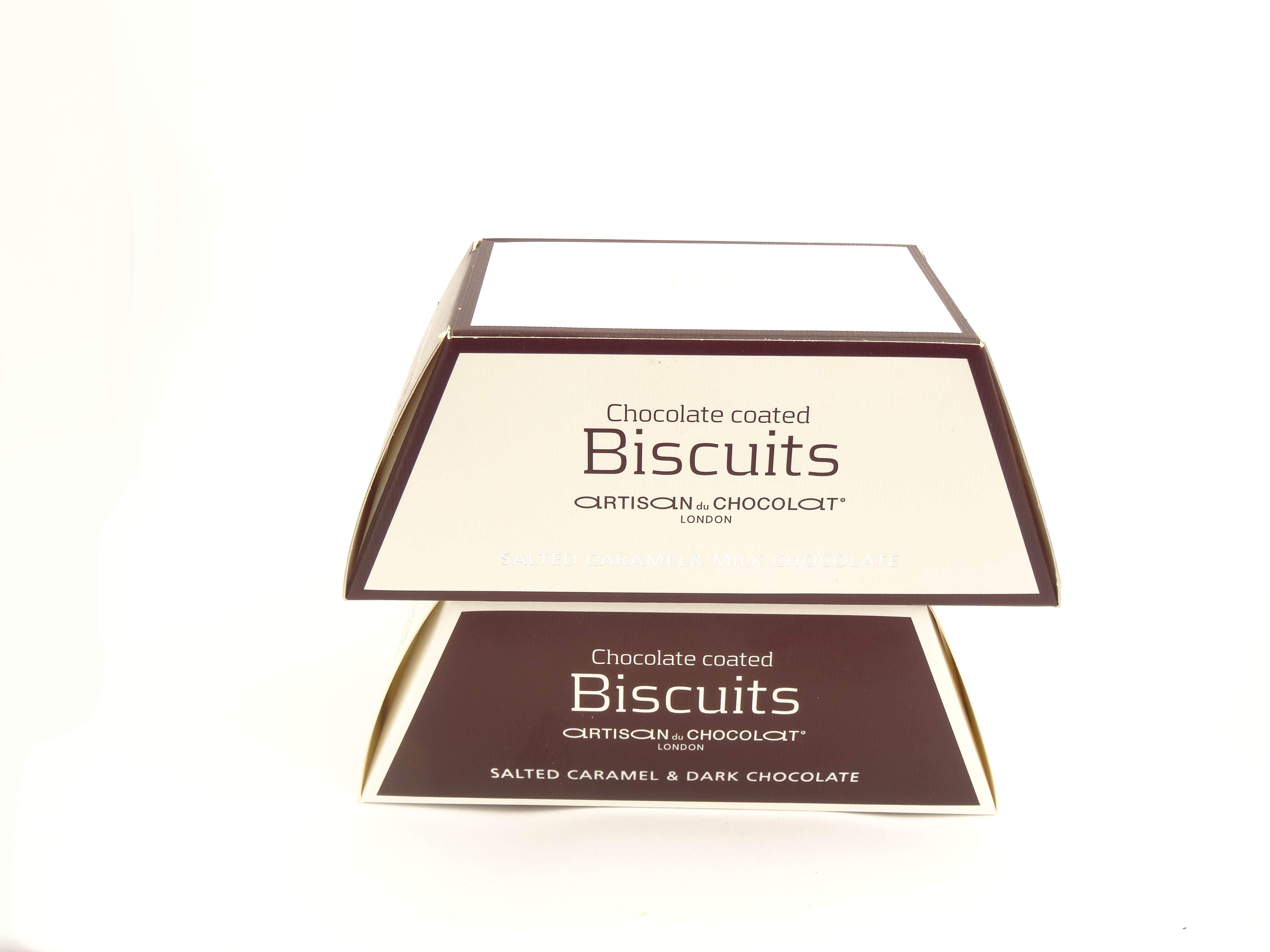 Dark Chocolate Salted Caramel Biscuits