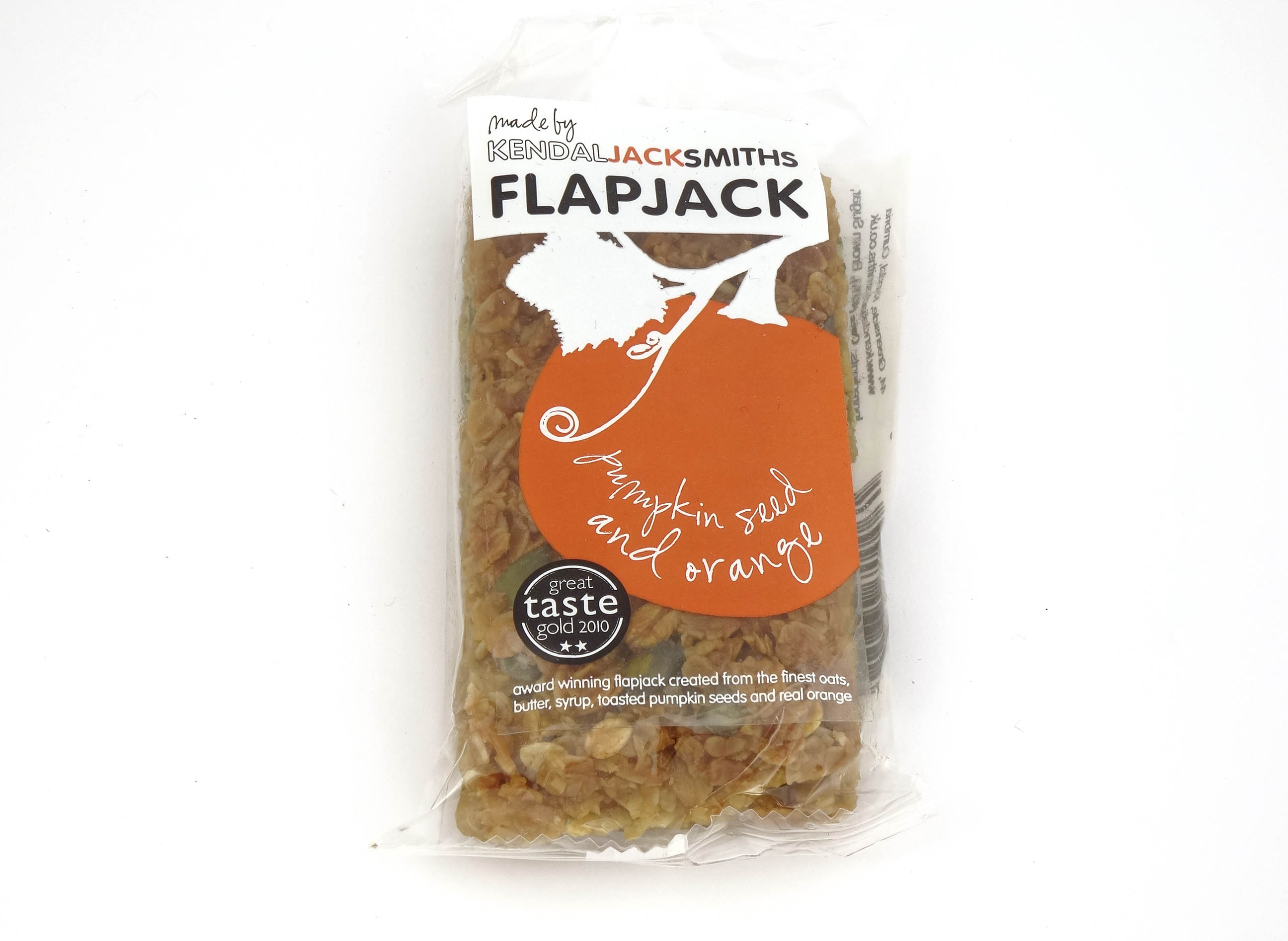 Pumpkin Seed and Orange Flapjack