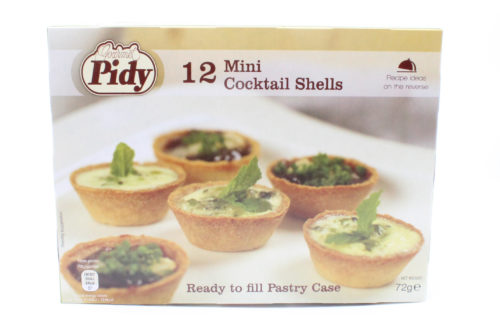 pidy cocktail shells